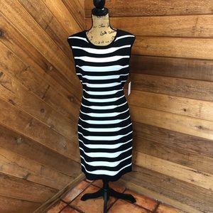 Calvin Klein Body Con Dress. NWT
